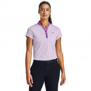 Unter Rüstung Zinger Grafik Frauen Polo-Shirt kurze Ärmel