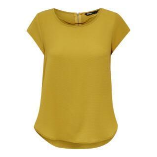 Damen-T-Shirt Only onlvic solid ptm