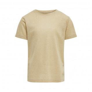 Girl's Only Kinder-T-Shirt kurze Ärmel Silvery