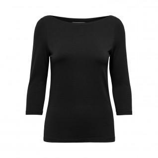Damen-T-Shirt Only onlaya boatnecks