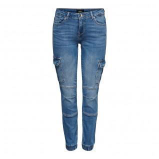 Damen-Cargo-Jeans Nur Missouri Leben