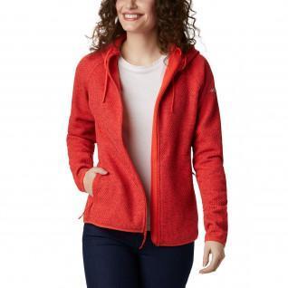 Damen Columbia Pacific Punkt Zip Hoody Sweatshirt