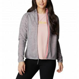 Damen Columbia Pacific Punkt FZ Sweatshirt mit Kapuze