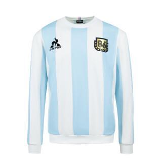 Sweatshirt Le coq sportif retro Argentinien 1986 Rundhalsausschnitt