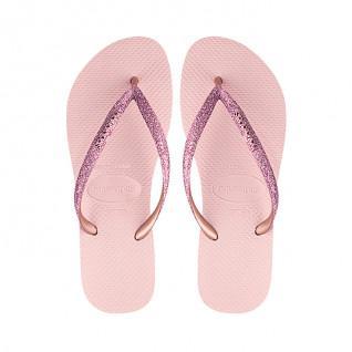 Havaianas Slim glänzende Flip-Flops für Kinder