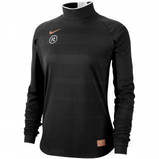 Sweatshirt-Frau Nike FC Dri-Fit