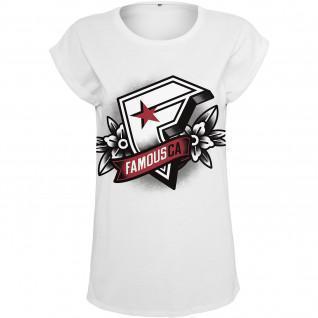 T-shirt Frau Famous Famous CA