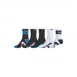 Globus Zerstörer Knöchel Socken 5 Pack