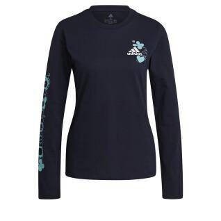 Damen-T-Shirt adidas Floral Graphic