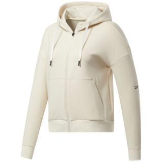 Sweatshirt mit Kapuze Reebok DreamBlend Cotton Full-Zip