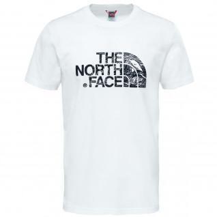 The North Face Holzschnitt Klassisches T-Shirt
