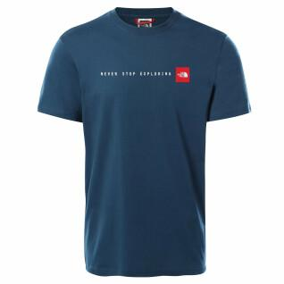 """Klassisches The North Face """"Never Stop Exploring""""-T-Shirt."""