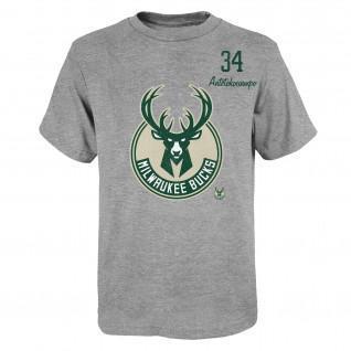 Outerstuff Spieler NBA Milwaukee Bucks Trikot für Kinder