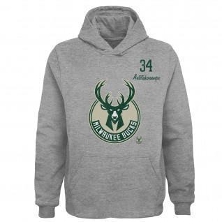 Kinder Hoodie Outerstuff Spieler NBA Milwaukee Bucks
