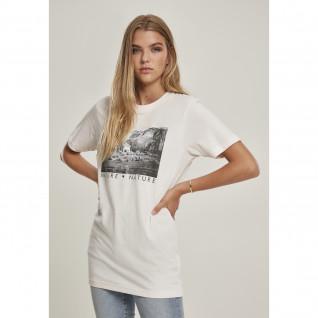 T-shirt Frau Mister Tee Liebe Natur