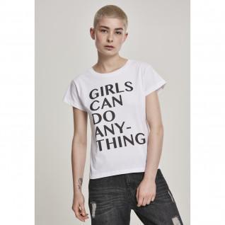 T-shirt Frau Mister Tee Mädchen kann alles tun