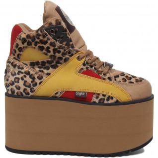 Buffalo Leder Frauen Schuhe