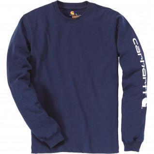 Carhartt Logo Langarm T-Shirt