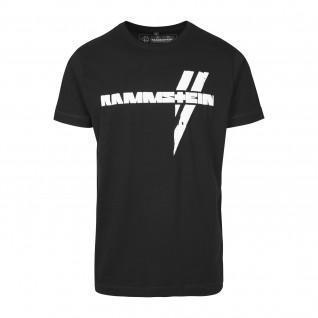 T-Shirt Rammstein rammtein weiße Balken