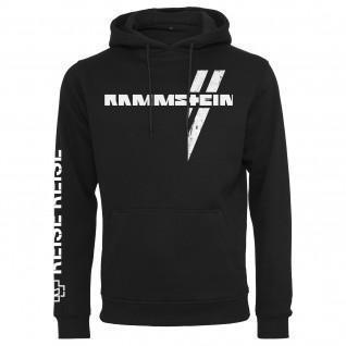 Sweatshirt mit Kapuze Rammstein rammstein weißes kreuz