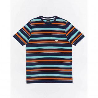 Gewundene Tasche Streifen T-shirt
