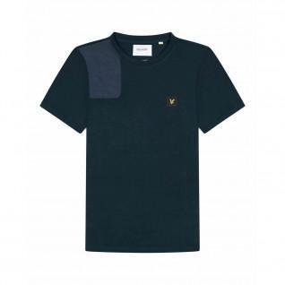 Lyle & Scott Ripstop-T-Shirt mit Applikationen