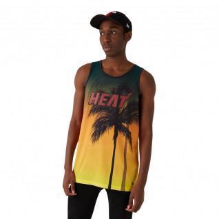 Neue Ära NBA Küste Hitze Miami Heat Aop Tank-Top