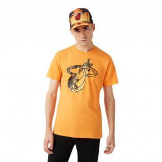 Neue Era NBA Küste Hitze Infill Miami Heat T-Shirt