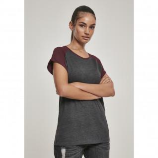 T-Shirt Frau Urban Classic raglan Vertrag
