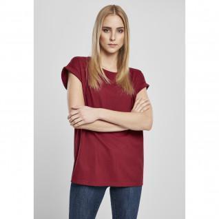 T-Shirt Frau Urban Classics Bio erweiterte Schulter
