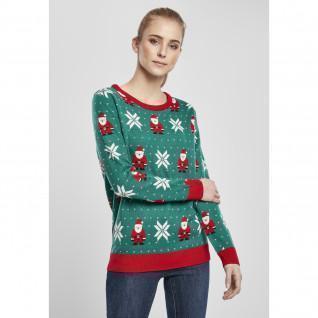 Sweatshirt Frau Urban Classics santa Weihnachten