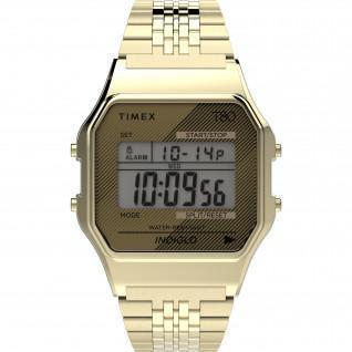 Timex T80 Uhr 34 mm Edelstahlarmband