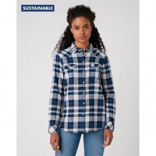 Damenhemd mit schmaler Passform Wrangler Western
