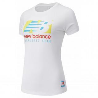 Neue Balance Wesentliche Feld Tag T-Shirt